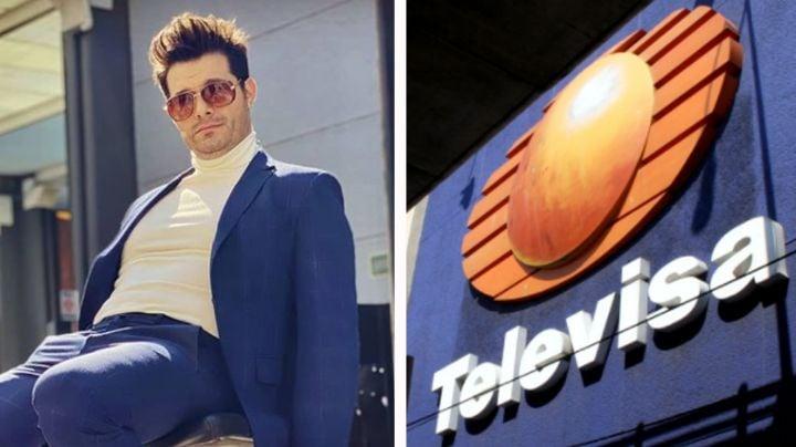 ¡Cambió a TV Azteca por Televisa! Confirman que Brandon Peniche protagonizará remake de 'Viviana'