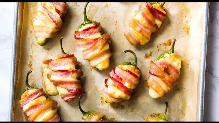 ¡Ideal para los amantes de lo picante! Goza de estos exquisitos chiles güeros rellenos