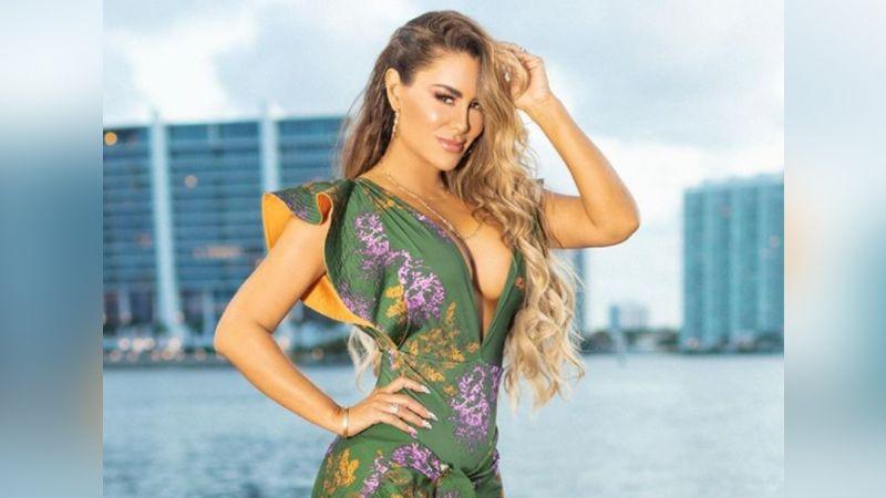 """Ninel Conde conquista a Instagram al lucir tremendo 'look' de verano desde Miami: """"Estás perfecta"""""""
