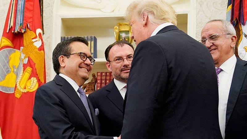 Vinculan a proceso a Ildefonso Guajardo, exsecretario de Economía de Peña Nieto