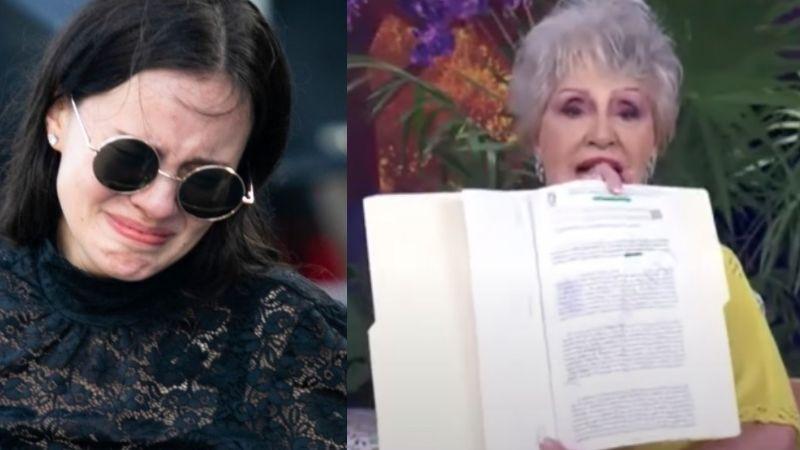 ¡La 'hunde' en vivo! Sarita afirma ser la heredera de José José y Anel Noreña la exhibe en Televisa