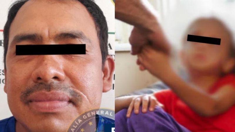 Infierno en casa: Emanuel abusa de su propia hija; aprovechó que su madre salió para atacarla
