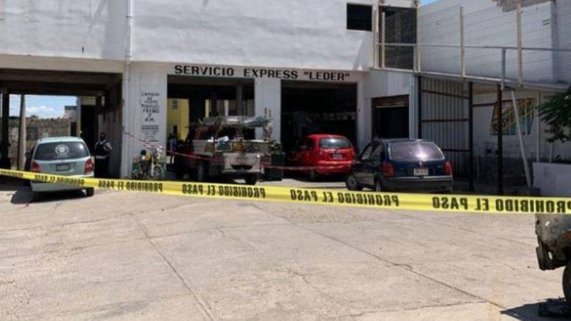 Salvaje homicidio: Hombre es asesinado con 9 disparos dentro de un taller mecánico