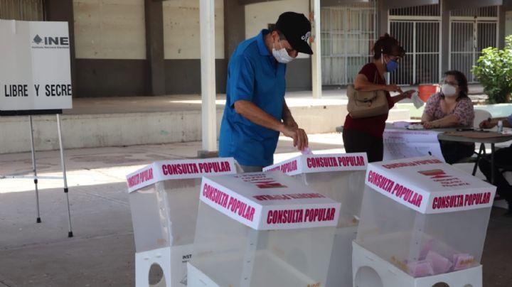 Inicia jornada de Consulta Popular este 1 de agosto en Ciudad Obregón; hay baja afluencia