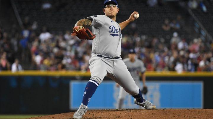 ¡Por fin llega el 13! Julio Urías brilla en la loma y Dodgers apalean a los Diamondbacks