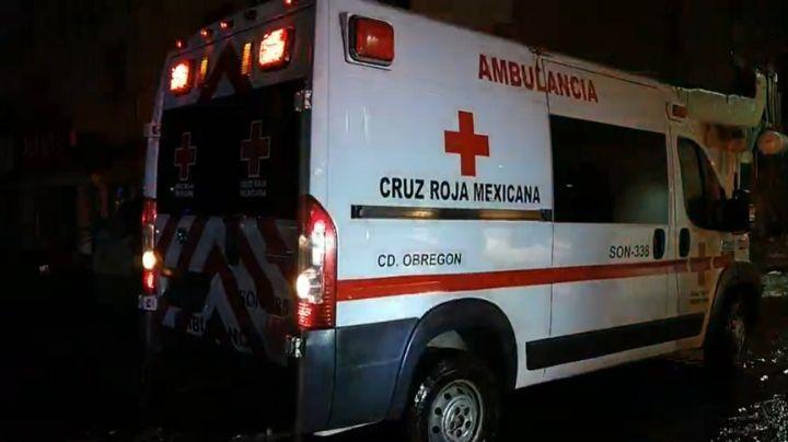 ¡Caótico! Fuertes lluvias destruyen negocio en el centro de Ciudad Obregón; hay una víctima