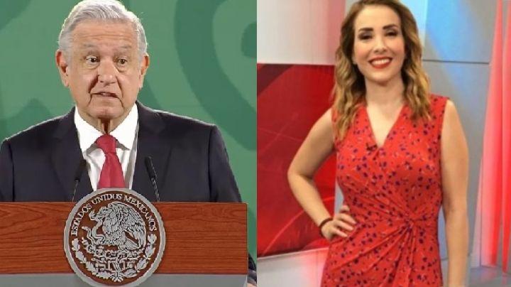 La periodista Azucena Uresti está protegida ante amenaza de 'El Mencho' y el CJNG: AMLO