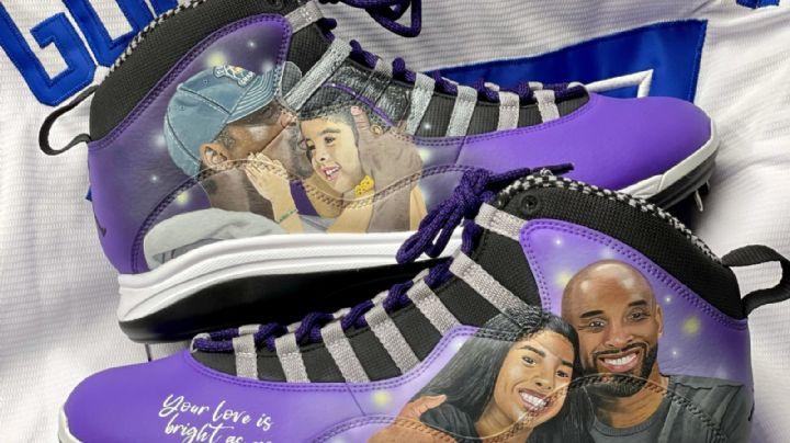 ¡Mamba forever! Vladimir Guerrero Jr. le rinde tributo a Kobe Bryant con sus ganchos