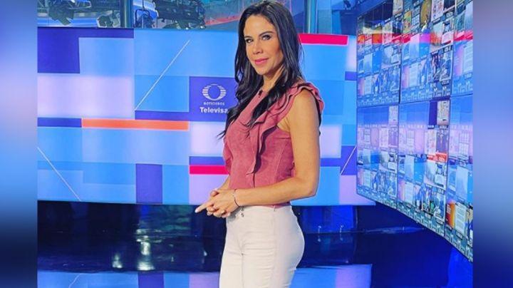 """""""Lo que se perdió 'Zague'"""": Paola Rojas presume belleza en Instagram con coqueto 'look' en Televisa"""