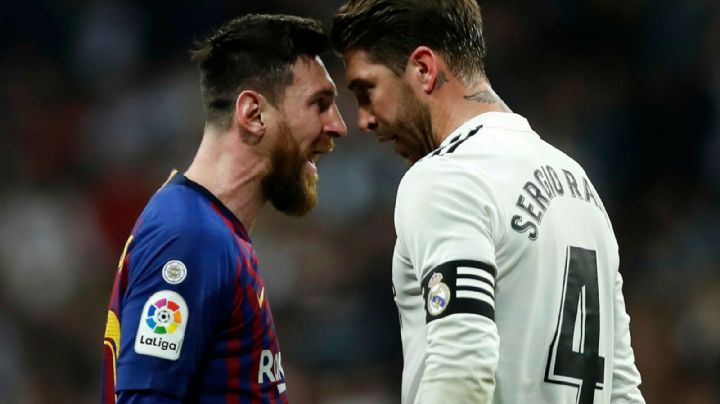 """""""¿Quién lo diría"""": Así recibió Sergio Ramos a Lionel Messi a su llegada al PSG"""