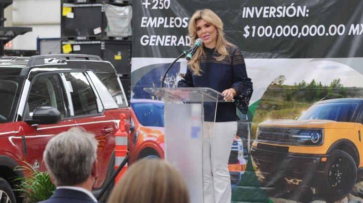 Sonora: Claudia Pavlovich inaugura ampliación de la empresa Schnellecke Logistics