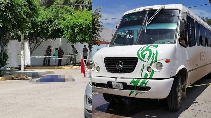 Trágico final en Mazatlán: Anciana fallece al ser embestida por un autobús; solo quería cruzar la calle