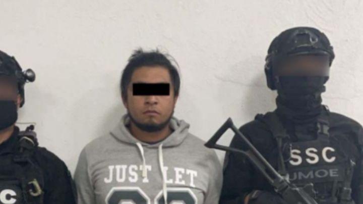 Detienen al 'Benja' en Hidalgo; asesinó a una mujer y a sus dos hijas en la CDMX
