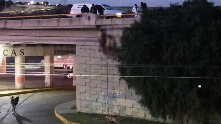 Zacatecas: Abandonan 6 cuerpos en puente El Orito; cuatro de ellos estaban colgados