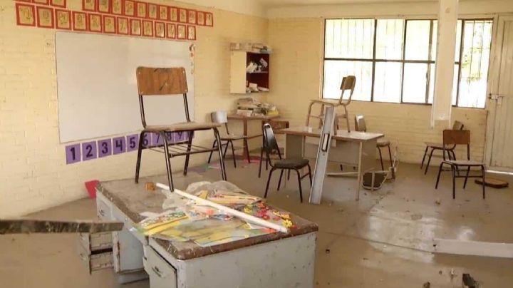 Durante la pandemia por Covid-19, 10 mil escuelas han sido saqueadas y destrozadas: SEP