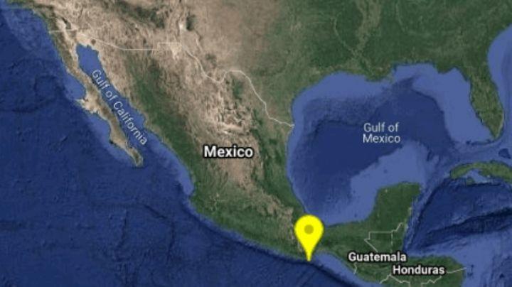 SSN alerta sobre un sismo de magnitud 4.2 al sureste de Crucecita, Oaxaca