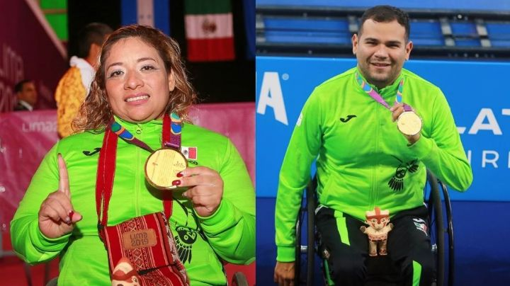 ¡México tiene abanderados! Amalia Pérez y Diego López encabezarán delegación en Paralímpicos
