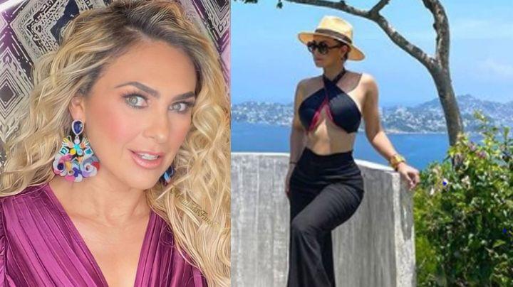 """Aracely Arámbula paraliza Instagram al lucir su cinturita con tentador vestido: """"Madre santa"""""""