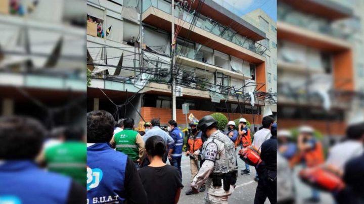Sube a 22 el número de heridos por explosión en la Benito Juárez de la CDMX