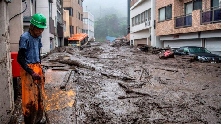 FOTOS: ¡Caos en Japón! Reportan a 4 fallecidos y a 5 desaparecidos tras graves deslizamientos