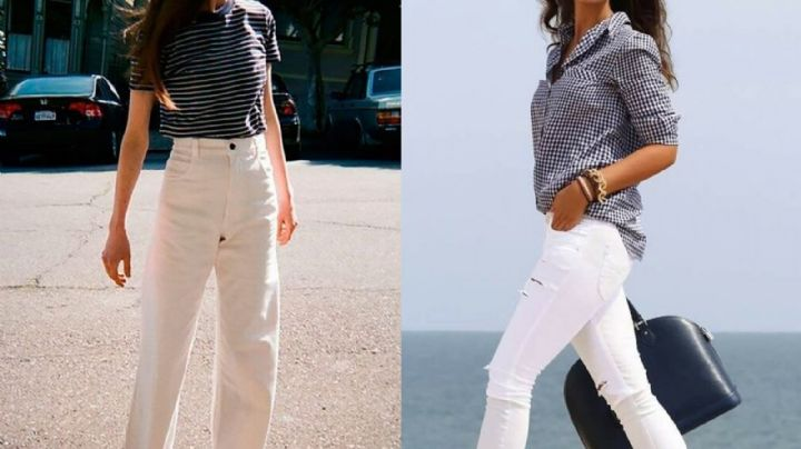 'Outfit': Descubre por qué los jeans blancos son la prenda preferida de este verano 2021