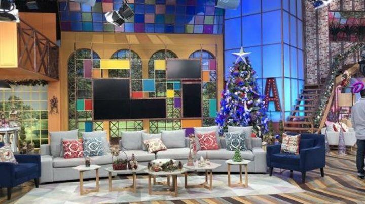 ¡Se dicen de todo! Captan tremenda pelea entre dos integrantes de 'VLA' en pleno foro de TV Azteca