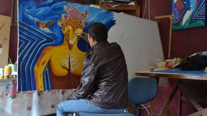 Artista cajemense, Luis Hinojosa, explica cómo iniciarte en las artes plásticas