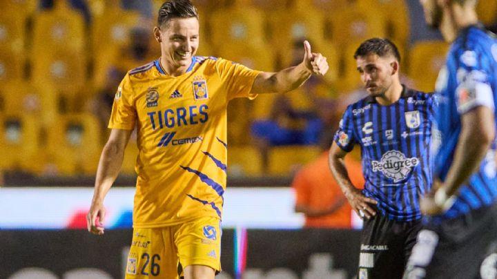 Thauvin se estrena como goleador y los Tigres le meten 'Diente' a los Gallos Blancos