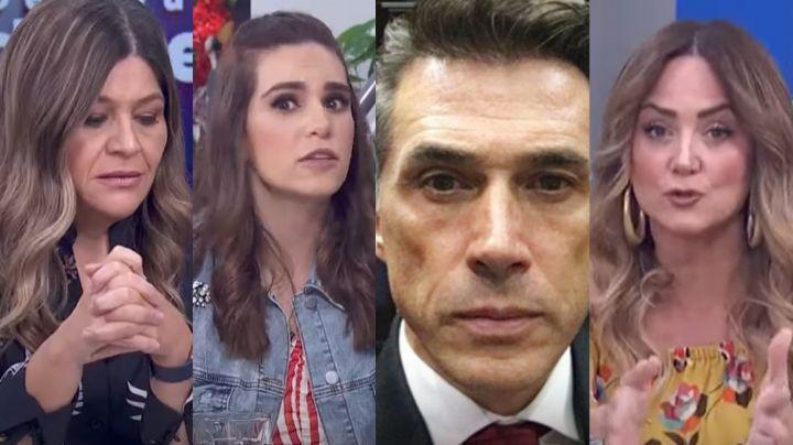 """Conductoras de Televisa 'hunden' a Sergio Mayer por amenazar a integrante de 'Hoy': """"Teibolero"""""""