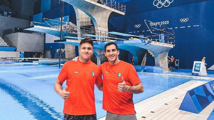 ¡Orgullo nacional! Rommel Pacheco y Osmar Olvera avanzan a Semifinales de clavados en Tokio 2020
