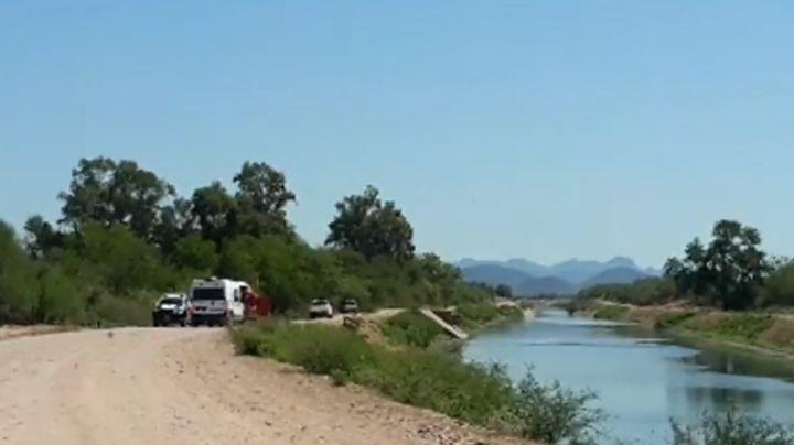 Desgracia en Cajeme: Hallan el cuerpo de un hombre en Canal Alto; se habría ahogado anoche