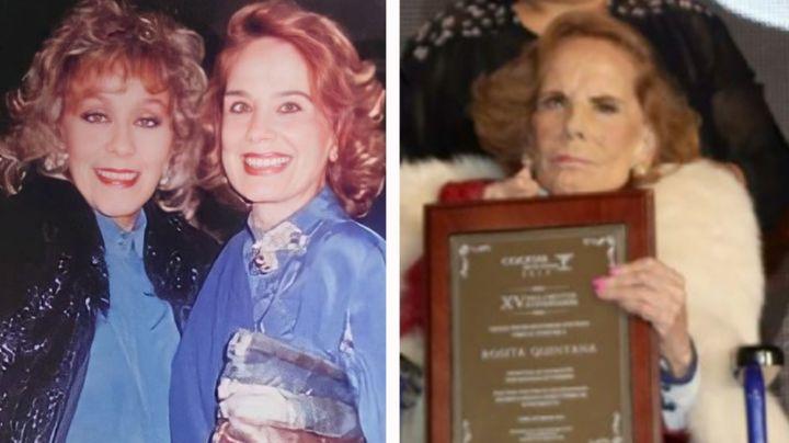 ¡Shock en Televisa! Antes de morir, en 'Hoy' revelaron el último deseo de Rosita Quintana