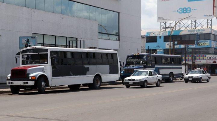 Escala conflicto en transporte urbano de Ciudad Obregón; usuarios se ven afectados