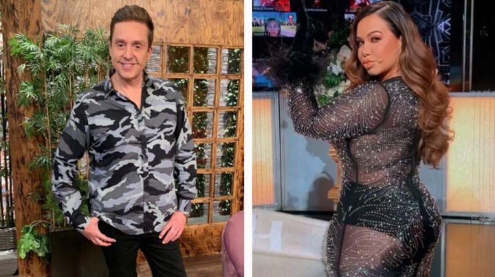 """""""Está bien servidota"""": Bisogno se burla de Chiquis en 'Ventaneando' ¿y lo corren de TV Azteca?"""
