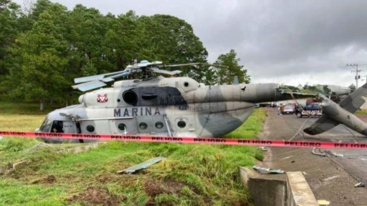 VIDEO: Así fue el desplome del helicóptero donde viajaba el secretario de Gobierno de Veracruz