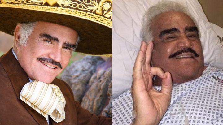 ¿Quería matar a Vicente Fernández? Filtran FOTO de intruso en su hospital; tenía macabro regalo
