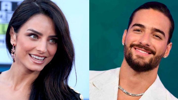 ¿Felices los 4? Aislinn Derbez lanza 'amorosa' indirecta a Maluma con coqueto comentario