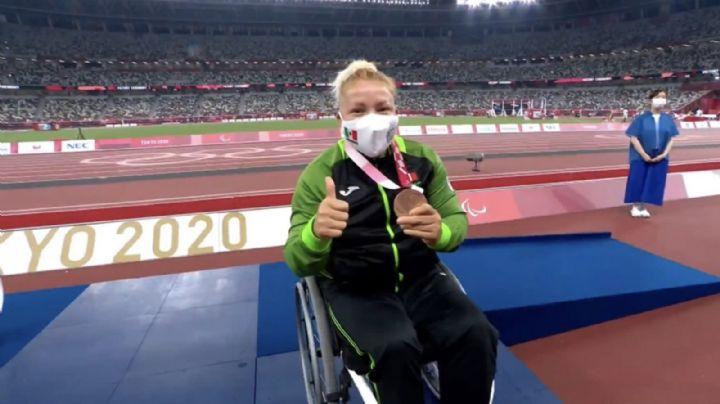¡Segunda medalla para México! Rosa María Guerrero triunfa en los Paralímpicos de Tokio 2020