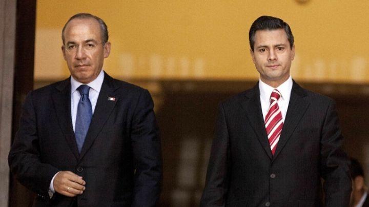 UIF tendría información para investigar a Calderón y EPN por pago de sobornos