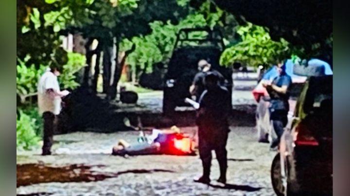 Movilización en Colima: De un balazo en la cabeza, gatilleros asesinan a un motociclista