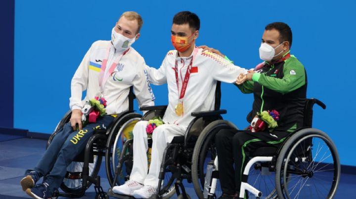 ¡Viva México! Diego López obtiene presea de bronce en los Juegos Paralímpicos de Tokio 2020