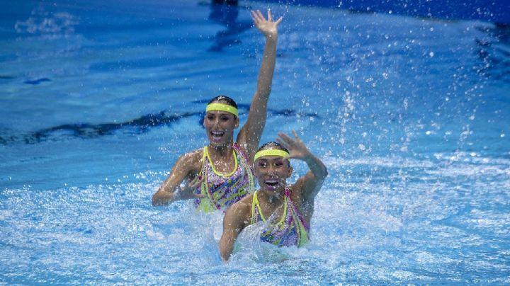 ¡Viva México! Nuria Diosdado y Joana Jiménez pasan a la Final de natación artística en Tokio 2020