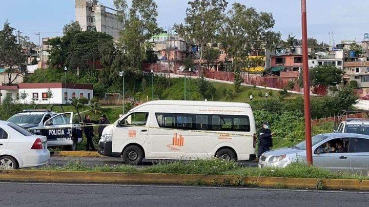 VIDEO: Ladrón de combi se encuentra con la muerte; un pasajero lo mató tras intento de asalto en Edomex
