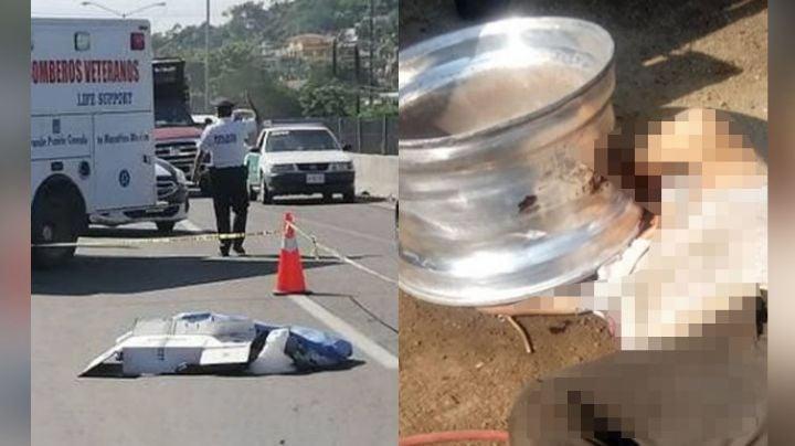 Trágico final: 'Talachero' pierde la vida tras explotarle una llanta en Mazatlán