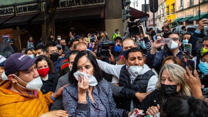 VIDEO: ¡Brutal! Golpean hasta sangrar a alcaldesa electa de CDMX; señala a Claudia Sheinbaum