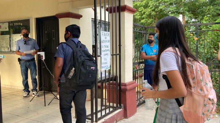 Cajeme: Alumnos y maestros regresan a clases presenciales tras el confinamiento por Covid-19
