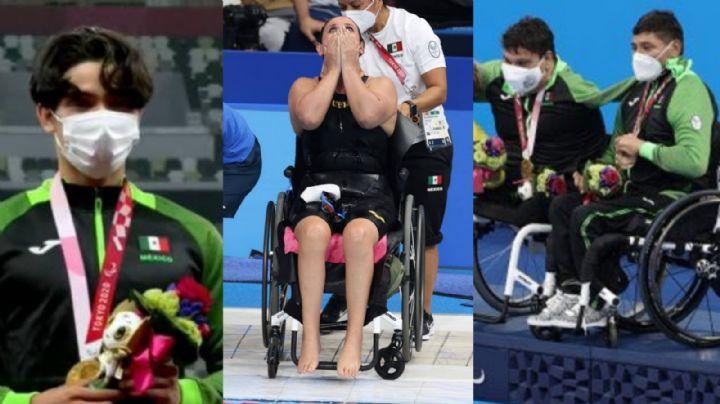 ¡México supera las 300 medallas! En un día, ganan 4 preseas en los Paralímpicos de Tokio 2020