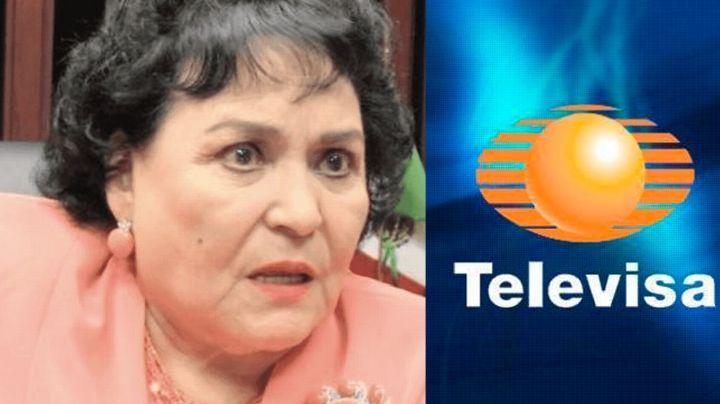 ¡La traiciona! Actor de Televisa revela en 'Ventaneando' pleito de Carmen Salinas y este comediante