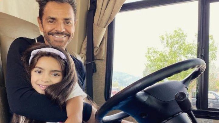VIDEO: Eugenio Derbez celebra el cumpleaños de Aitana; el actor dedica emotivo mensaje