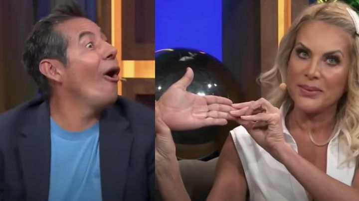"""¡Como Adame! Actriz de Televisa humilla al aire a Yordi Rosado por su tamaño: """"Tiene una miseria"""""""